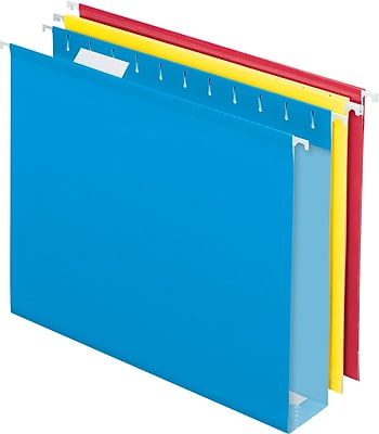 Pendaflex® Box-Bottom Hanging File Folders, Letter, 2
