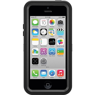 OtterBox Defender Series iPhone 5C, Black (7732651)