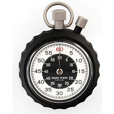 Marathon Instantaneous Return and Time-Out, Two Button Mechanical Stopwatch (ST194003)