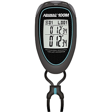 Marathon Super 100 Memory, 6 Mode Digital Stopwatch, Turquoise (ST083010-T)