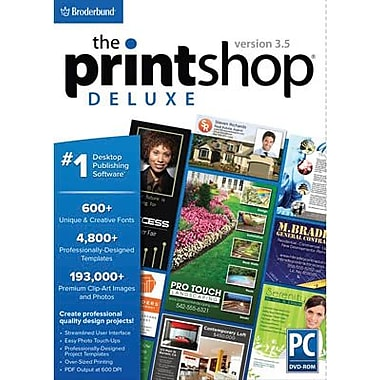 Broderbund The Print Shop Deluxe v3.5 for Windows (1 User) [Download]