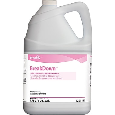 BreakDown™ Odor Eliminator, 1 Gallon, 4/Ct