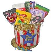 Dolce & Gourmando – Panier-cadeau Gourmet Candy Popcorn Basket