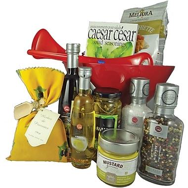 Dolce & Gourmando – Panier-cadeau Gourmet Condiments