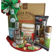 Dolce & Gourmando Pizza Stone Basket
