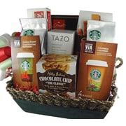 Dolce & Gourmando Starbucks Gift Basket