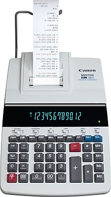 Canon® MP27DII Desktop Printing Calculator