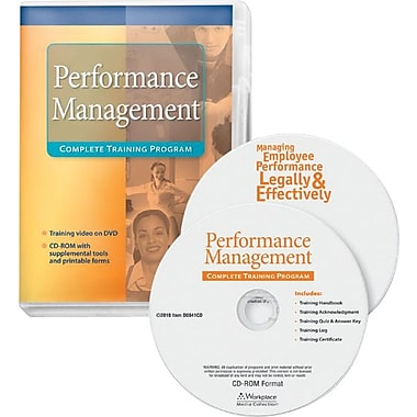 ComplyRight Management Training - Managing Employees Performance Legally & Effectively, DVD