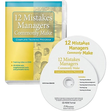 ComplyRight Management Training - 12 Mistakes Managers Commonly Make, DVD