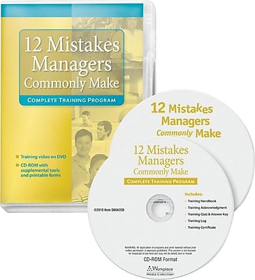 ComplyRight Management Training - 12 Mistakes Managers Commonly Make, DVD (DR0186)