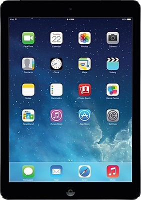 Apple iPad Air with Retina display with WiFi + Cellular (AT&T) 16GB, Space Gray