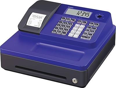 Casio® Cash Registers, SG-1 Series, Blue