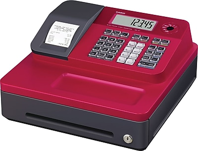Casio® Cash Registers, SG-1 Series, Red