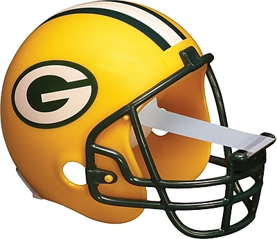 Scotch® Magic™ Tape Dispenser, Green Bay Packers Football Helmet with 1 Roll of 3/4