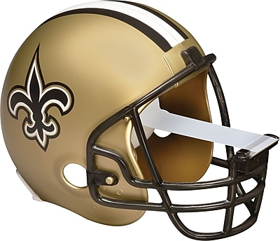 Scotch® Magic™ Tape Dispenser, New Orlean Saints Football Helmet with 1 Roll of 3/4