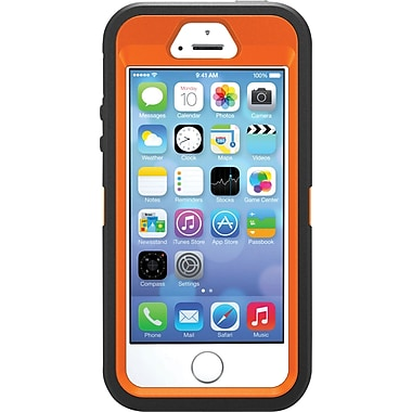 OtterBox - Étui Realtree Xtra de série Defender pour iPhone 5S, orange