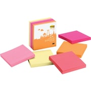Post-it® Super Sticky Bangkok Colors Notes