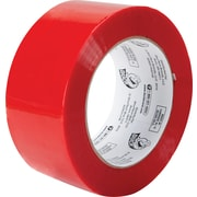 "Duck Tape® Brand Duct Tape, Hot Melt Packing Tape, 1.88""x109.3 yds., Red"
