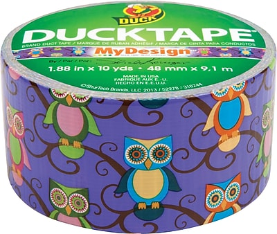 Duck Tape® Brand Duct Tape Retro Owls, 1.88