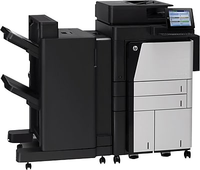 HP LaserJet Enterprise flow MFP M830z Black/White Laser Multifunction Printer, D7P68A#BGJ, New