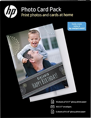 HP Photo Card Pack White (SF791A)