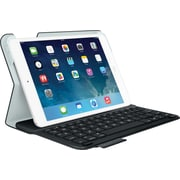 Logitech® Ultrathin Keyboard Folio for iPad® Mini, Carbon Black