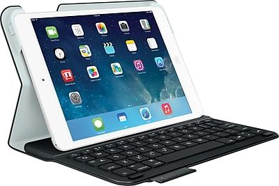 Logitech Ultrathin Keyboard Folio for iPad® Mini, Carbon Black (920-005893)