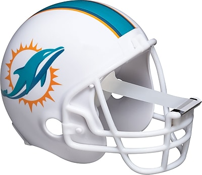 Scotch® Magic™ Tape Dispenser, Miami Dolphins Football Helmet with 1 Roll of 3/4