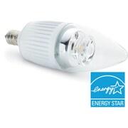 Verbatim – Ampoule E12 DEL à culot candélabre, blanc chaud, 300 lumens, 40 W, remplacement ampoule incandes., intensité réglable