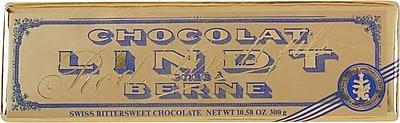 Lindt Bittersweet Dark Chocolate Gold Bar, 10.58 oz/Each (8008)