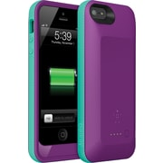Belkin Grip Power Battery Case for iPhone 5 and iPhone 5s, Purple/Blue