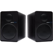 Grace Digital GDI-BTSP201 - aptX Powered Bookshelf Bluetooth Speakers, set of 2, Black