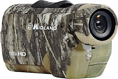 Midland XTC285VP HD Wearable Action Camera, Mossy Oak Camouflage