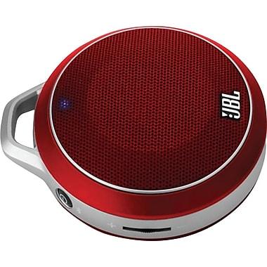 JBL Micro Wireless Bluetooth Speaker, Red