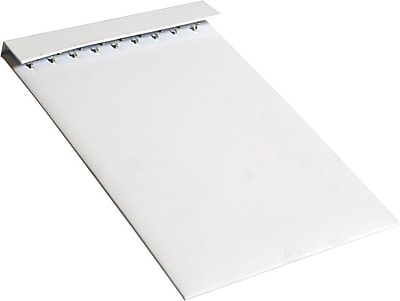 Slatwall Chain Board, 18 Hook, White, 9-1/2 x 13-7/8 (2 Pcs)
