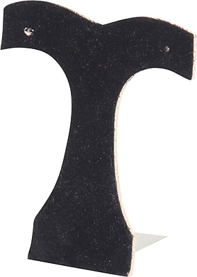 Earring Stand, Black, 3-7/8 x 4-3/8