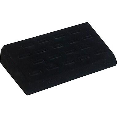 Ring Tray, Black Velvet, 18 Slot