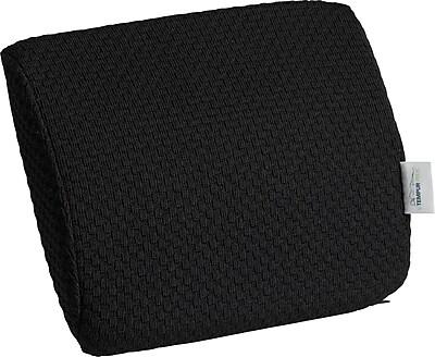 Tempur-pedic® Travel Lumbar Cushion with Fabric Cover, Black