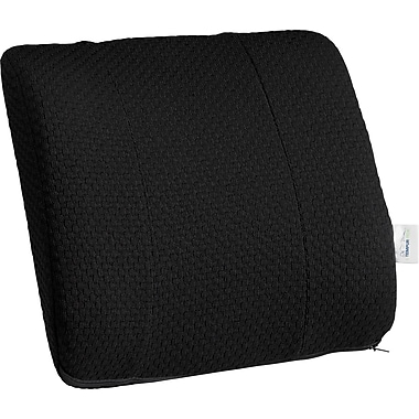 Tempur-pedic® Lumbar Cushion with Fabric Cover, Black