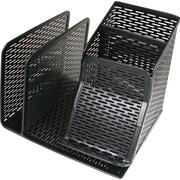 Artistic® Punched Metal Mini Desktop Organizer