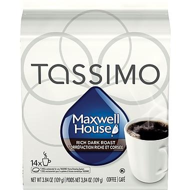 Maxwell House Dark Roast T-Disc Refills, 14/Pack