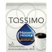 Maxwell House Dark Roast T-Disc Refills, 14/Pack