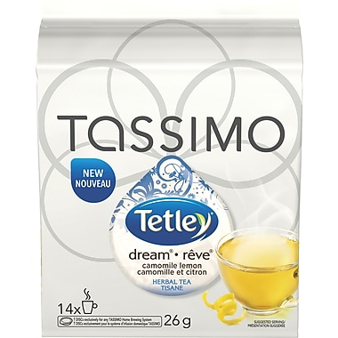 Tetley® Dream® Chamomile Lemon T-Disc Refills, 14/Pack
