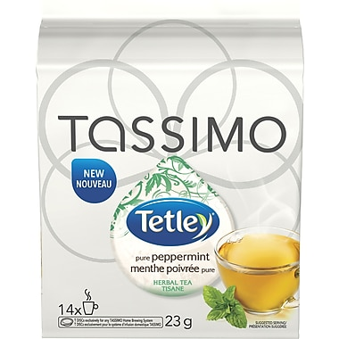Tetley® Pure Peppermint T-Disc Refills, 14/Pack