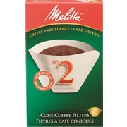 Melitta Coffee Filters, Cone Style #2, 40/Pack