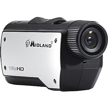 Midland XTC280VP HD 1080p Action Camera, Black/Silver
