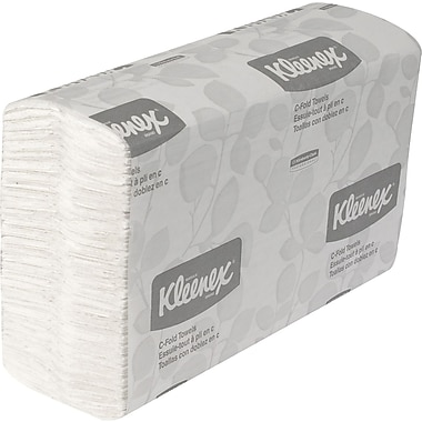 Kleenex® C-Fold Paper Towels, 1-Ply