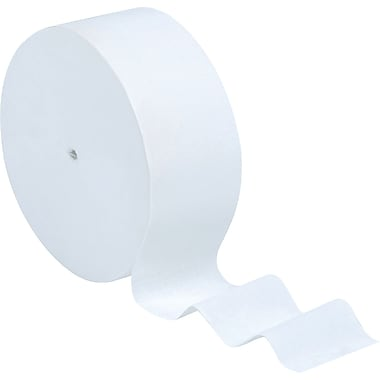 Scott® JRT Coreless Toilet Paper High-Capacity Jumbo Roll, 2-PLY, 12 Rolls/Case, 13,800 Feet/Case (07006)