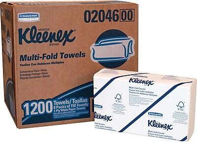 Kleenex® Multi-Folded Paper Towel, 1,200/Case