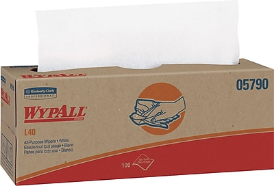 Kimberly Clark WypAll L40 Wipers, 9 Packs/Case